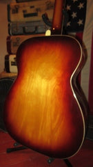 Vintage 1967 Harmony H168 Small Bodied Flattop Acoustic Guitar