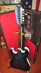 Circa 1964 Silvertone Model 1448 Amp In Case