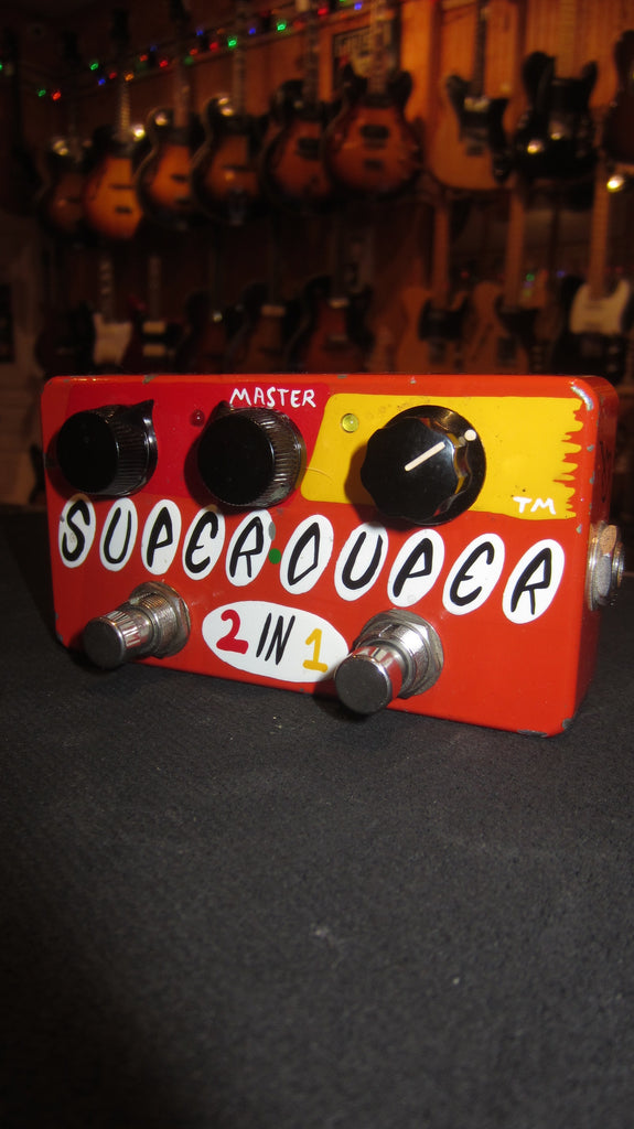 ZVex Super Duper 2 in 1 Boost/Overdrive Hand Painted