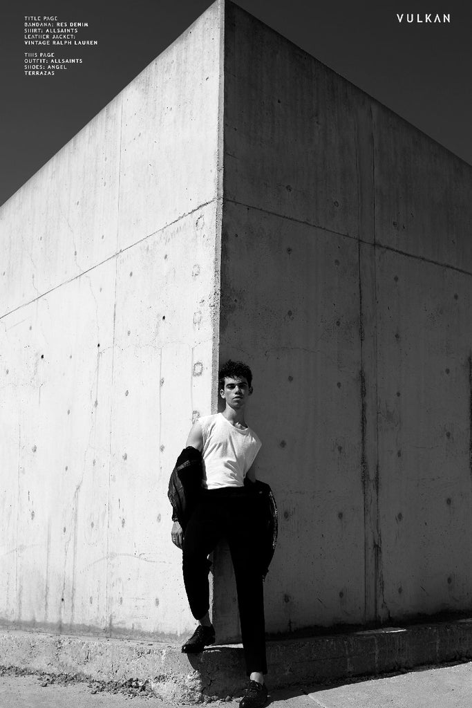 Cameron Boyce for Vulkan Magazine wearing The Hoxton