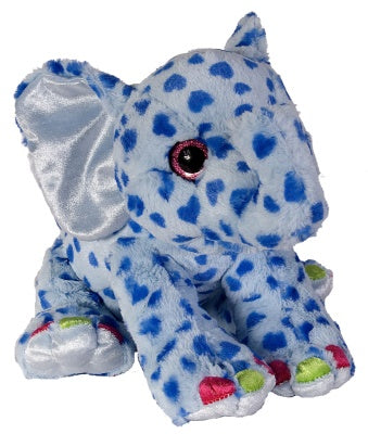 Sweet & Sassy Wildly Colorful Elephant