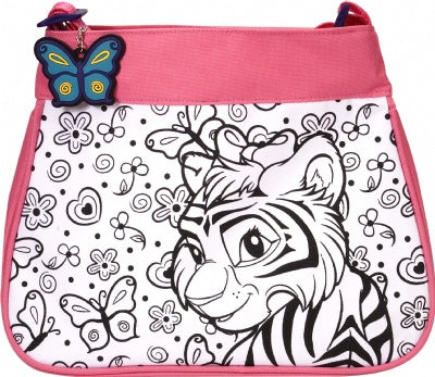Design It Yourself Tiger & Giraffe Purse
