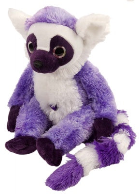 Sweet & Sassy Purple Ringtail Lemur (12-inch)