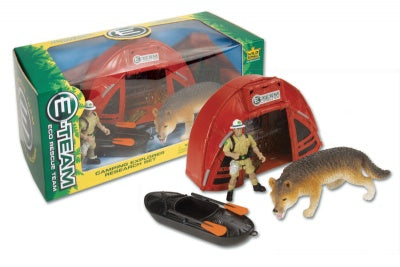 E-Team Camping Box with Wolf