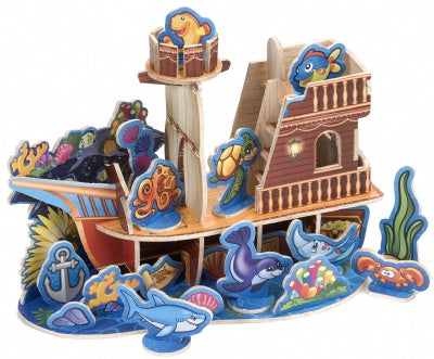 Wood Playsets: Sunken Ship