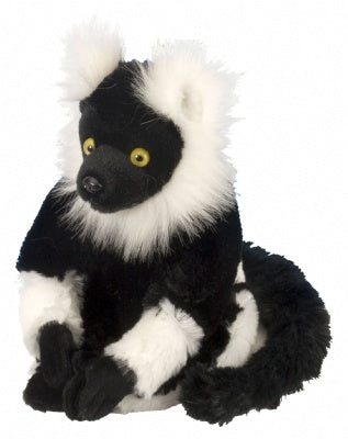 Mini Black & White Lemur Cuddlekins