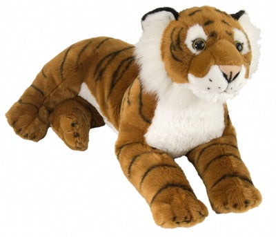 Tiger (16-inch Laying Cuddlekins Stuffed Animal)