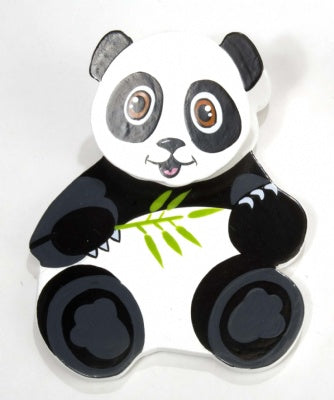 Wooden Magnetic Clip - Panda