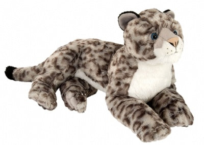 Snow Leopard (16-inch Laying Cuddlekins Stuffed Animal)