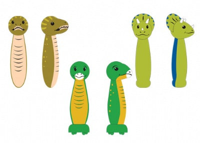 Jump Rope with Wooden Handle (Dinosaur Assortment)