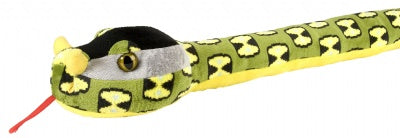 Big Head 70-Inch Plush Rhino Viper Snake