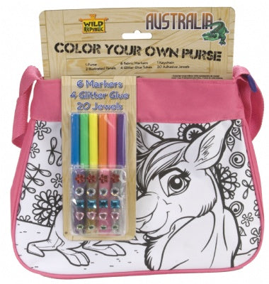 Design It Yourself  Australian Purse