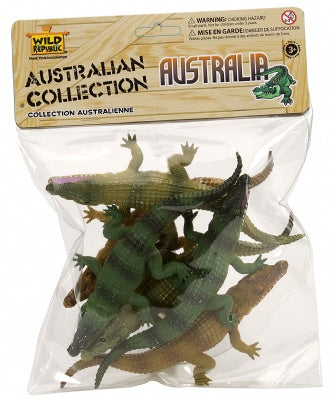 Polybag Crocodile Toys