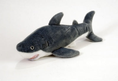 Cuddlekins Great White Shark 10-inch Plush