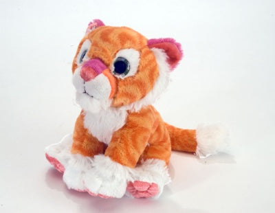Tangerine Tiger Mini Plush (Sweet & Sassy)
