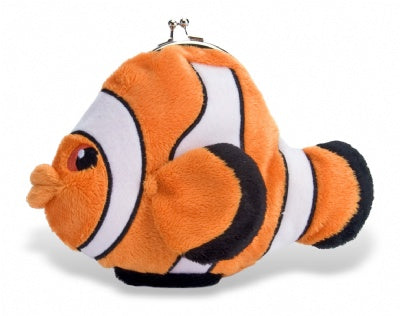 Clown Fish Clasp Purse