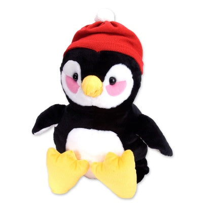 Large 16-inch Plush Penguin with Hat
