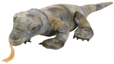 Cuddlekins Gray Komodo Dragon (12-inch)