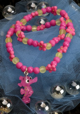 Kids Icon Animal Necklace - Seahorse