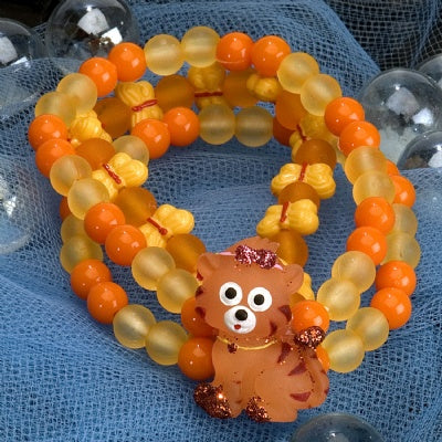 Kids Icon Wide Bracelets - Tiger