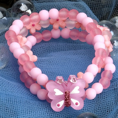Kids Icon Wide Bracelets - Butterfly