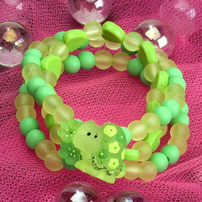 Kids Icon Wide Bracelets - Sea Turtle