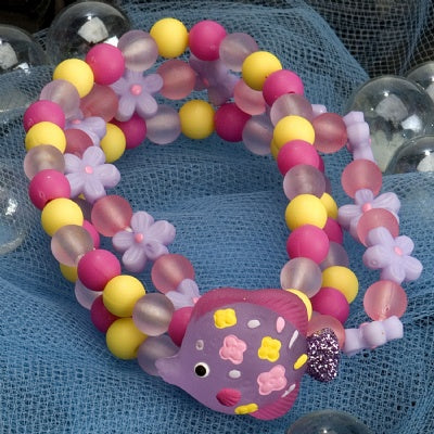 Kids Icon Wide Bracelets - Fish