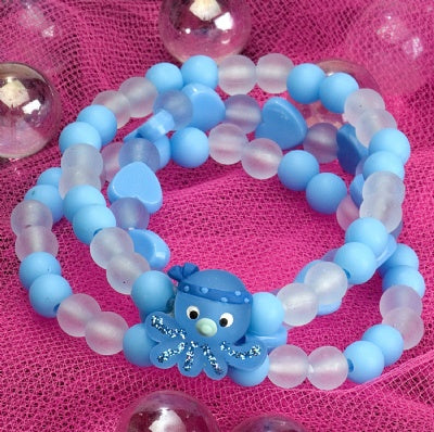Kids Icon Wide Bracelets - Octopus