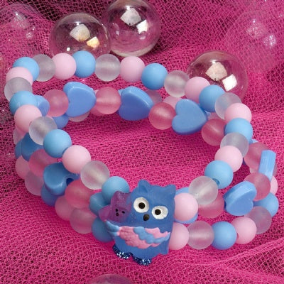 Kids Icon Wide Bracelets - Owl