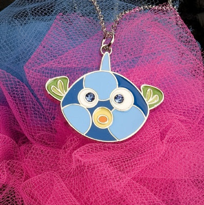 Kids Animal Pendant Necklace - Fish