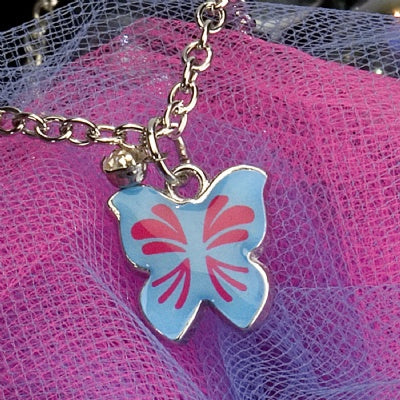 Kids Charm Necklace - Butterfly