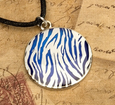 Mood Animal Print Necklace - Zebra