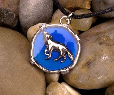 Mood Circle Necklaces - Wolf