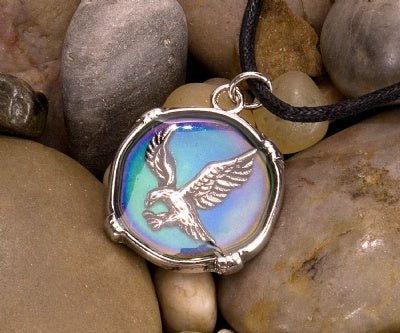 Mood Circle Necklaces - Eagle