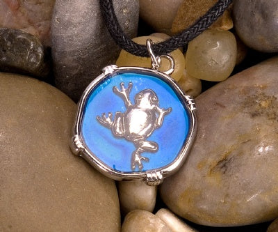 Mood Circle Necklaces - Frog
