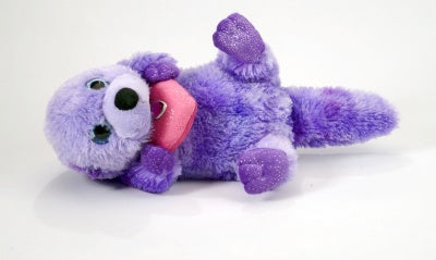 Purple Sea Otter Plush (Sweet & Sassy)