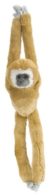 Hanging White Handed Gibbon Monkey 20-inch