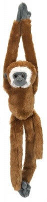 Hanging Lar Gibbon Monkey 20-inch