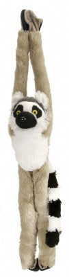 Hanging Ring Tailed Lemur 20-inch