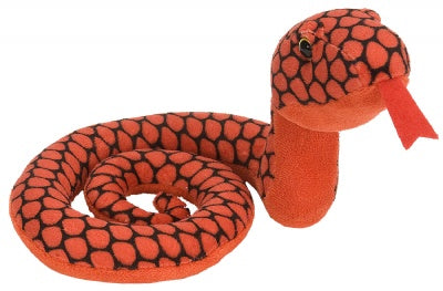 Red Coiled Snake 22-inch