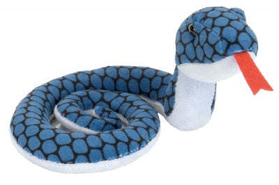 Blue Coiled Snake 22-inch