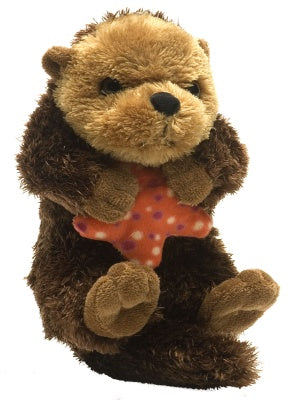 Hug Ems Plush Sea Otter (7-inch)