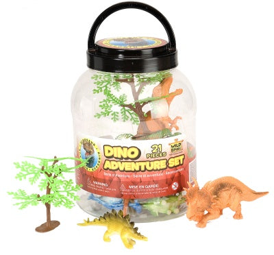 Dinosaur Adventure Bucket (21-Piece Set)