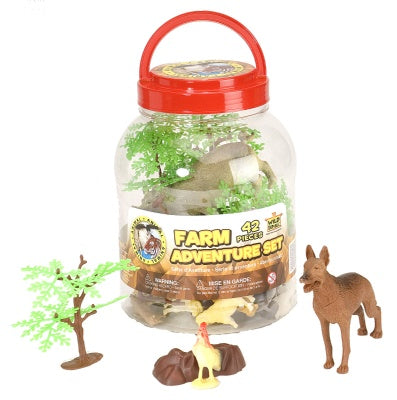 Farm Adventure Bucket (42-Piece Playset)
