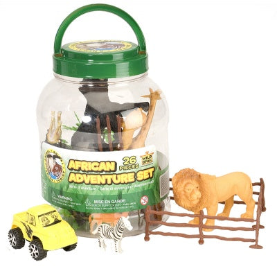 African Adventure Bucket (26-Piece Playset)
