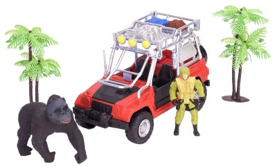 E-Team X Congo Gorilla Research Playset