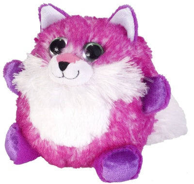 Fuzzball's Fuchsia Fox (6-inch Stuffed Animal)