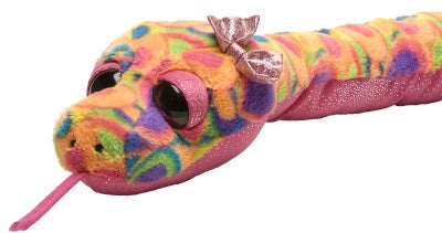 Sweet and Sassy Sherbet Snake (54-inch Stuffed Animal