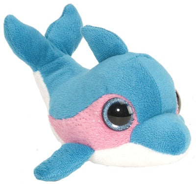 Sweet and Sassy Li'l Dolphin Blue Raspberry