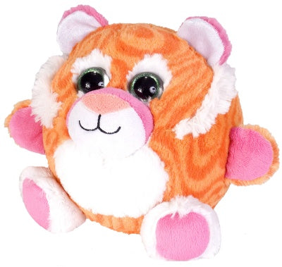 Fuzzball's Tangerine Tiger (6-inch Stuffed Animal)